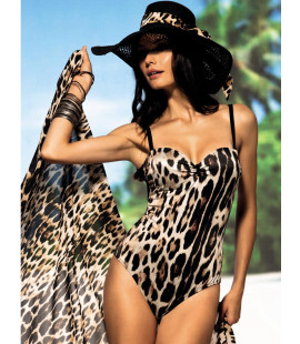 CHIC ANIMAL PRINT SWIMSUIT