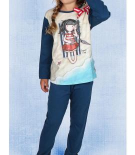 GIRL DARK BLUE MODEL
