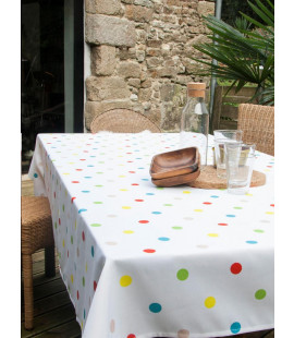 MULTICOLOUR TABLE CLOTH