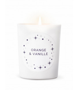 ORANGE VANILLA CANDLE