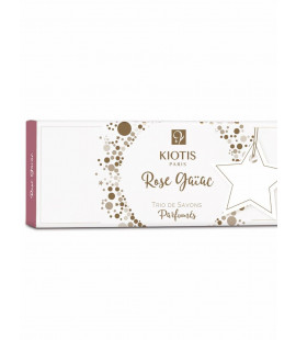 SET 3 ROSE GAIAC SOAP