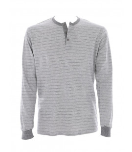 STRIPES MELANGE GREY