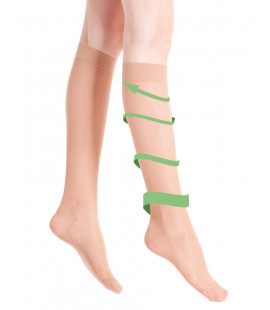 VITA LEG SOCKS BEIGE